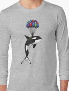 Big Orca, Bigger Dreams Long Sleeve T-Shirt