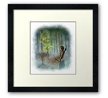 Everdeen Forest Framed Print