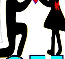 ❤ღ°Will You Accept My Heart-Romantic Proposal  Clothes & Phone/iPad/Laptop/MackBook Cases/Skins & Bags & Home Decor & Stationary & Mugs°ღ❤ Sticker