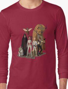 avatar/star wars crossover Long Sleeve T-Shirt