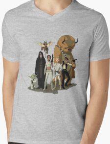avatar/star wars crossover Mens V-Neck T-Shirt