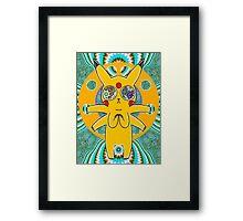 Psychic Pikachu Framed Print