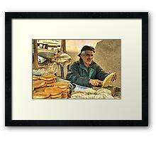 Baker Man  Framed Print