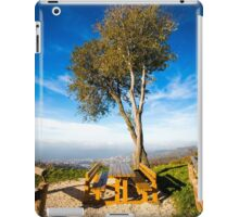 foggy morning in the bay of Trieste iPad Case/Skin