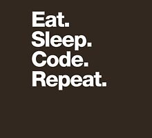 Eat. Sleep. Code. Repeat. Unisex T-Shirt