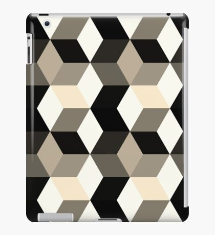 Dark cubes  iPad Case/Skin