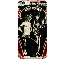 Iggy the stooges iPhone Case/Skin