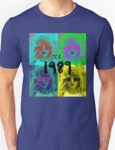1989 taylor swift pop art T-Shirt