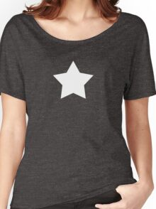 white star Women's Relaxed Fit T-Shirt