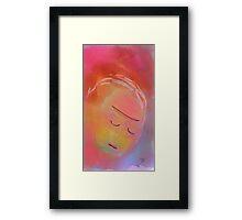 Girl - Soft 007 Framed Print