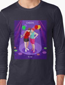Team Party Best Friends Long Sleeve T-Shirt