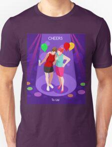 Team Party Best Friends Unisex T-Shirt
