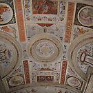 Palazzo Gonzaga, Ceiling Detail. Mantua, Italy by Igor Pozdnyakov
