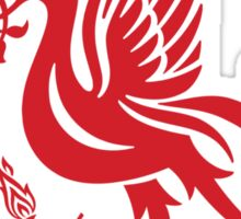 LFC Pattern - Red and White Sticker