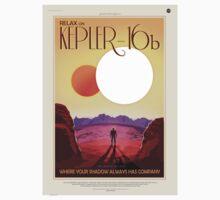 NASA Space Tourism - Kepler-16b Kids Tee