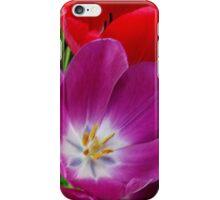 colors of tulips iPhone Case/Skin