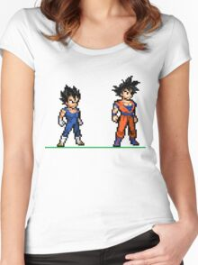 Dragon Ball Z Women's Fitted Scoop T-Shirt