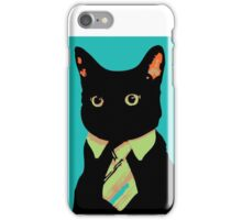 Mr Cat shirt, hoodies and products iPhone Case/Skin
