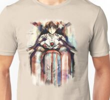 Shinji Evangelion Anime Tra Digital Painting  Unisex T-Shirt