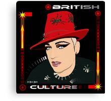BRITISH CULTURE Canvas Print