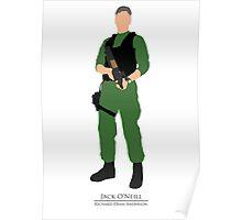 Stargate SG1 - Minimalist O'Neill Poster