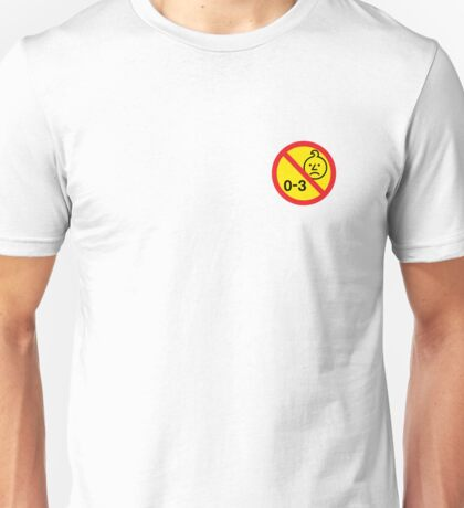 0-3 sad onions sticker Unisex T-Shirt