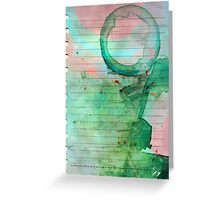 Smoothie stains Greeting Card