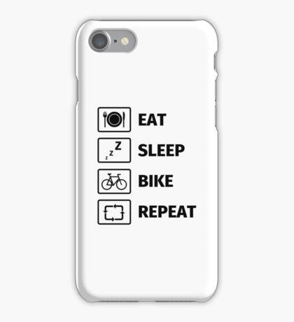 Eat Sleep Bike Repeat iPhone Case/Skin