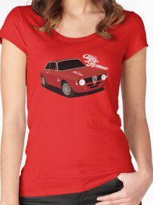 Alfa Romeo Giulia Sprint GTA Women's Fitted Scoop T-Shirt