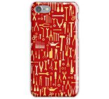 """Car repair tool, design for petrolheads """"red"""" iPhone Case/Skin"""