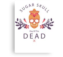 Day of the dead 3 Canvas Print