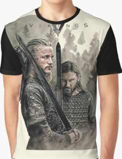 Ragnark and rollo Graphic T-Shirt