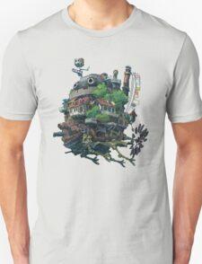 Howl's moving castle 8-bit <3 Unisex T-Shirt