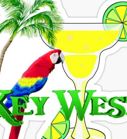 Key West Margarita Sticker
