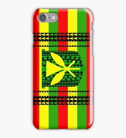 Tribal Kanaka Maoli iPhone Case/Skin