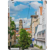 Street scene, Stuttgart iPad Case/Skin