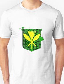Hawaiian Tribal Coat Of Arms Unisex T-Shirt