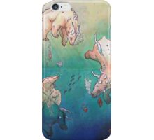 Opaline Snow Bears iPhone Case/Skin
