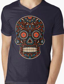 skull sugar Mens V-Neck T-Shirt