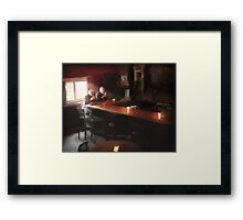 One Pint Framed Print