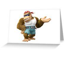 Funky Kong, Donkey Kong Greeting Card