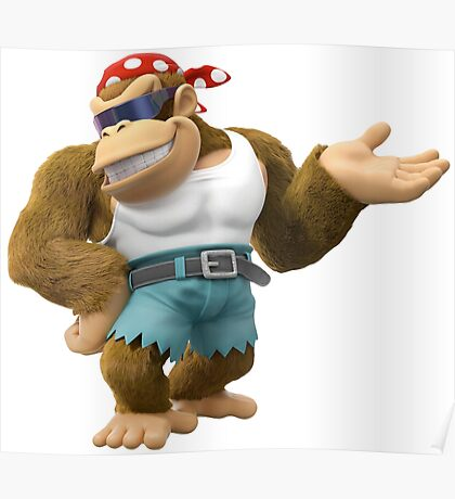 Funky Kong, Donkey Kong Poster
