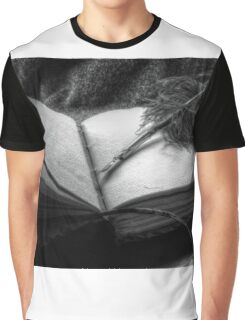 Quill and Pen Graphic T-Shirt