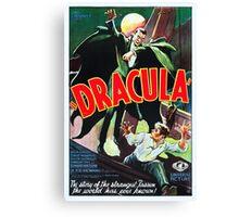 Dracula Canvas Print