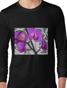 Love of Lace and Orchid Long Sleeve T-Shirt