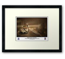 Operation Iraqi Freedom Framed Print