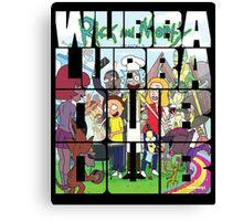 Rick and Morty season 2 Canvas Print