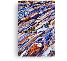Rocky abstract Canvas Print