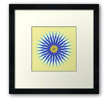 Sun Shiny Day Framed Print
