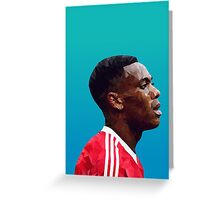 Anthony Martial - Manchester United Greeting Card